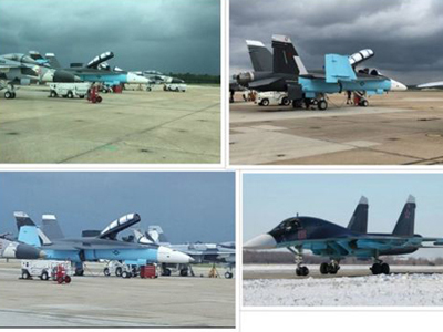 Tiêm kích Mỹ sơn màu giống máy bay Nga ở Syria gây tranh cãi