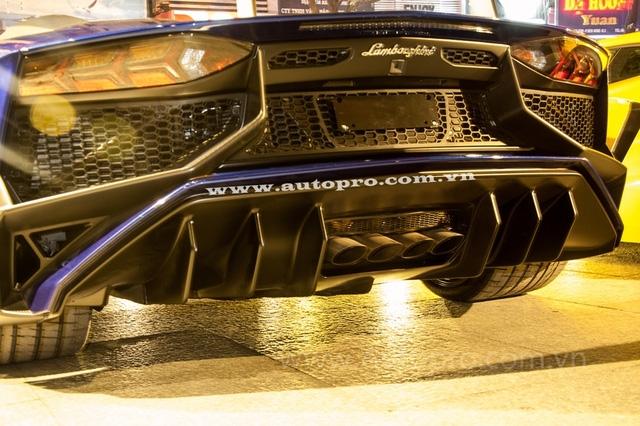 Lamborghini Aventador SV sử dụng động cơ V12, dung tích 6,5 lít tương tự như phiên bản tiêu chuẩn nhưng được tinh chỉnh lại và mang đến công suất tối đa 750 mã lực, cao hơn 50 mã lực trong khi mô-men xoắn cực đại 690 Nm vẫn giữ nguyên. Ngoài ra, Lamborghini Aventador SV còn nhẹ hơn 50 kg so với phiên bản tiêu chuẩn. Nhờ đó, siêu xe này có thể tăng tốc từ 0-100 km/h chỉ trong vòng 2,8 giây trước khi đạt tốc độ tối đa 350 km/h.