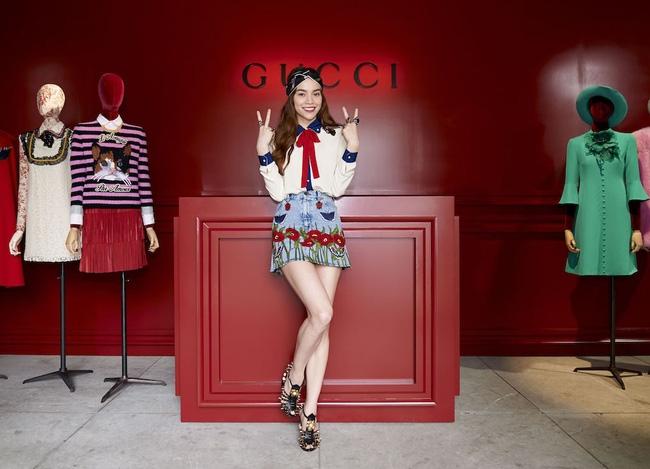 Chẳng nói chẳng rằng, Hồ Ngọc Hà cứ thế mà chễm chệ trên Instagram của Gucci - Ảnh 9.
