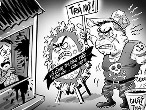 Sắp tới, các doanh nghiệp đòi nợ thuê sẽ không được sử dụng nhân viên đòi nợ theo kiểu xã hội đen để uy hiếp con nợ