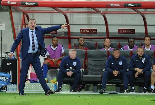 Big Sam chỉ dẫn dắt tuyển Anh được 67 ngày