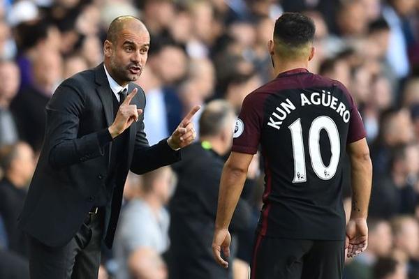 Man City, Aguero, Pep Guardiola, Premier League, Ngoại hạng Anh