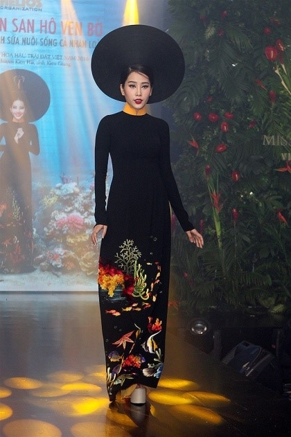 Nhung trang phuc Nam Em se dien tai Miss Earth 2016 hinh anh 2