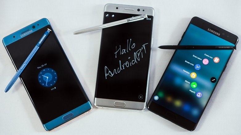 Thương hiệu Galaxy Note đứng trước nguy cơ bị khai tử. Ảnh: AndroidPit.