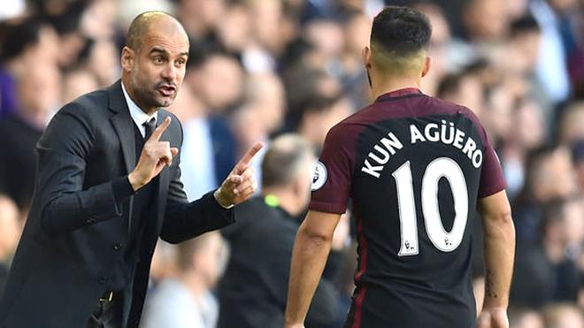 Sergio Aguero đang khiến Guardiola tức giận