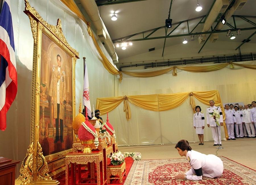 Cac thu tuong Thai va long ton kinh Quoc vuong Bhumibol hinh anh 3