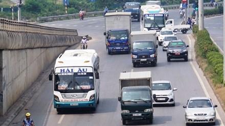 Hiện Bộ GTVT vẫn chưa công bố các biện pháp quản lý đột phá với tuyến xe khách Hà Nội - Hải Phòng. Ảnh: Bảo An