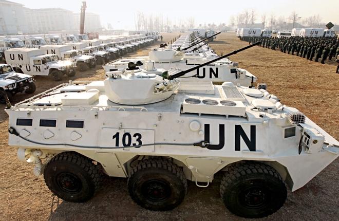 Dàn vũ khí tối tân của Lực lượng gìn giữ hòa bình Liên hợp quốc - Ảnh 2.