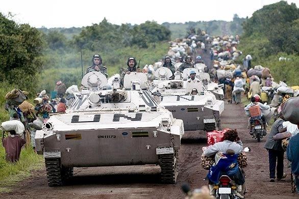 Dàn vũ khí tối tân của Lực lượng gìn giữ hòa bình Liên hợp quốc - Ảnh 4.