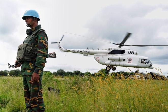 Dàn vũ khí tối tân của Lực lượng gìn giữ hòa bình Liên hợp quốc - Ảnh 9.