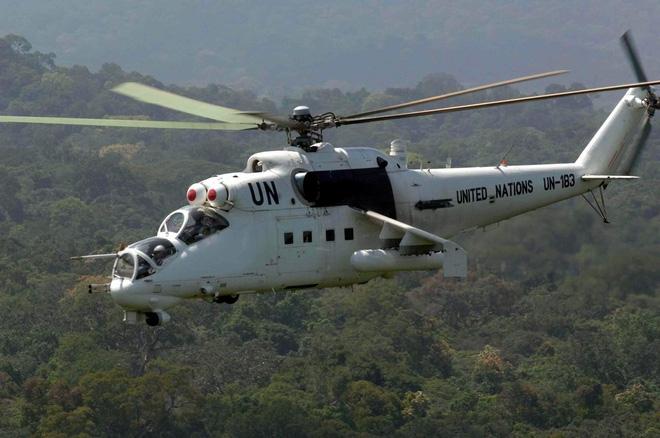 Dàn vũ khí tối tân của Lực lượng gìn giữ hòa bình Liên hợp quốc - Ảnh 10.