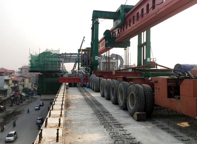 Dự án đường sắt Cát Linh - Hà Đông đặt mốc hoàn thành xây lắp vào cuối năm 2016