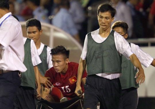 Quế Ngọc Hải có nguy cơ vắng mặt ở AFF Cup vì đa chấn thương