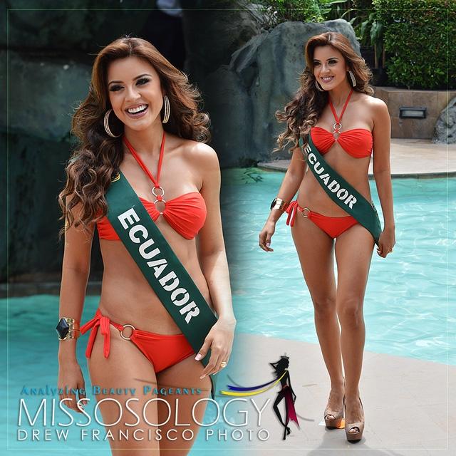 Ứng cử viên sáng giá nhất cho danh hiệu Hoa hậu Trái đất 2016 là người đẹp Ecuador.