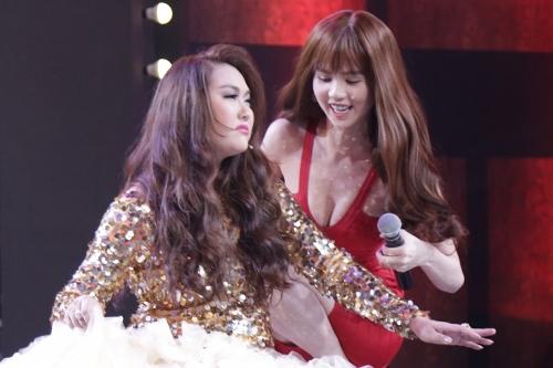 Cô nhiệt tình giúp đỡ nữ diễn viên Phi Thanh Vân