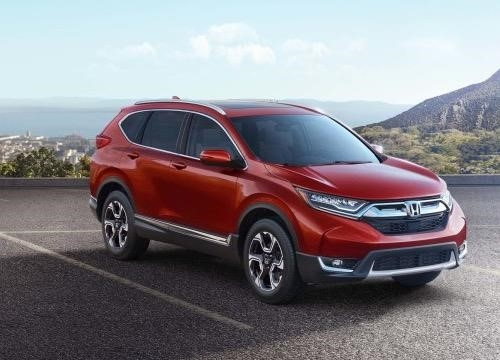 Honda CR-V 2017 ra mắt toàn cầu từ Mỹ.
