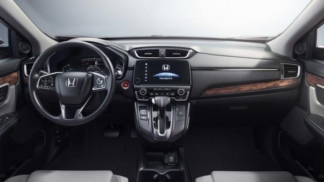Ra mat Honda CR-V 2017: Vo mong xe 7 cho hinh anh 2