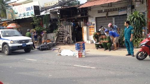 Truy tìm xe tải cán chết người rồi tháo chạy ở Sài Gòn - 1