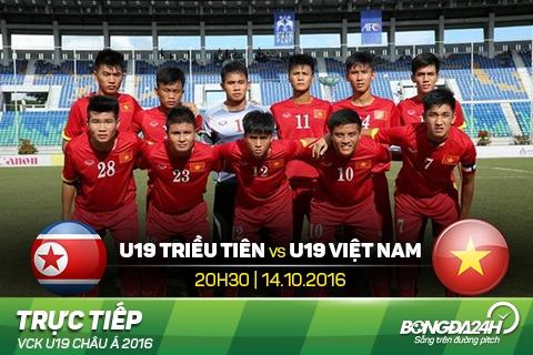 U19 Viet Nam vs U19 Trieu Tien (20h30 1410) Khong ai danh thue giac mo hinh anh