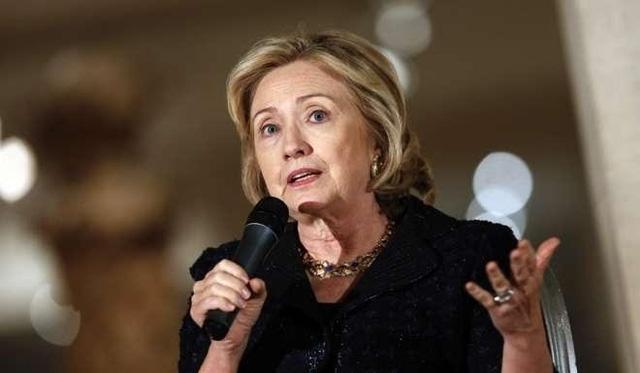 Bà Hillary Clinton. (Ảnh: SCMP)