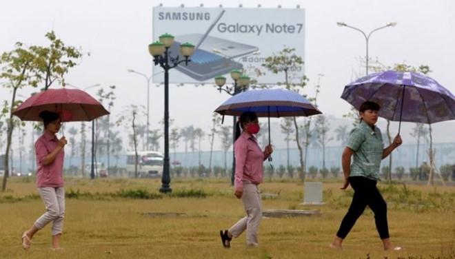Cong nhan Samsung VN: Chung toi khong that nghiep vi Note 7 hinh anh 1
