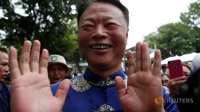Đại sứ Trung Quốc tại Philippines Zhao Jianhua (Ảnh: Reuters)