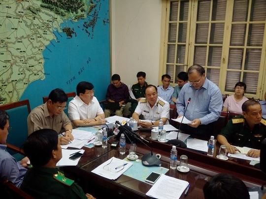 Ông Hoàng Văn Thắng cho rằng cơn bão số 7 diễn biến rất phức tạp, nguy hiểm