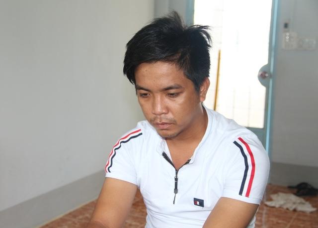 Đối tượng Lê Thanh Phong tại cơ quan điều tra