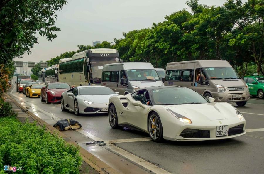 Cuong Do La dan dau doan sieu xe tai khoi dong Car Passion hinh anh 8