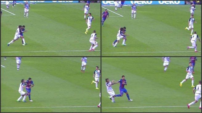 Luis Suarez, Barca, Barca vs Deportivo, Arribas