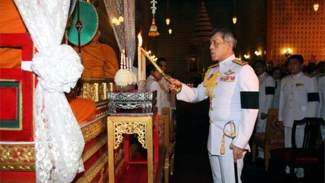 Thái tử Thái Lan Maha Vajiralongkorn (Ảnh: Reuters)