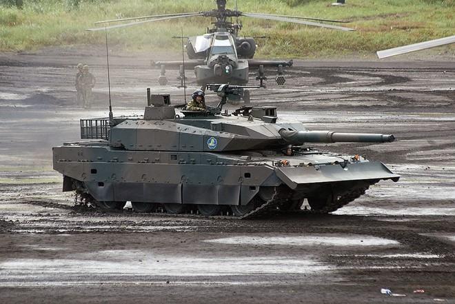 Xe tang Type-10 cua Nhat, hien dai nhung kho xuat khau hinh anh 2