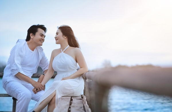 Anh cuoi lang man cua dien vien Cao Minh Dat hinh anh 2