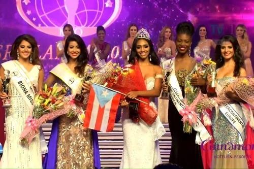 Top 5 của cuộc thi Hoa hậu Liên lục địa 2016.