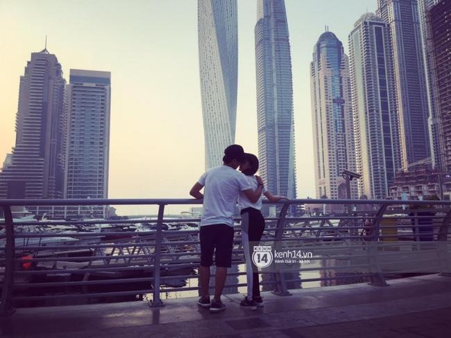 Độc quyền: Cặp đôi mới của Vbiz Hồ Quang Hiếu - Bảo Anh tiết lộ những hình ảnh hôn nhau đi khắp thế gian - Ảnh 1.