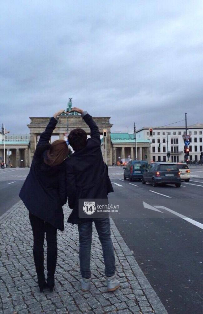 Độc quyền: Cặp đôi mới của Vbiz Hồ Quang Hiếu - Bảo Anh tiết lộ những hình ảnh hôn nhau đi khắp thế gian - Ảnh 2.