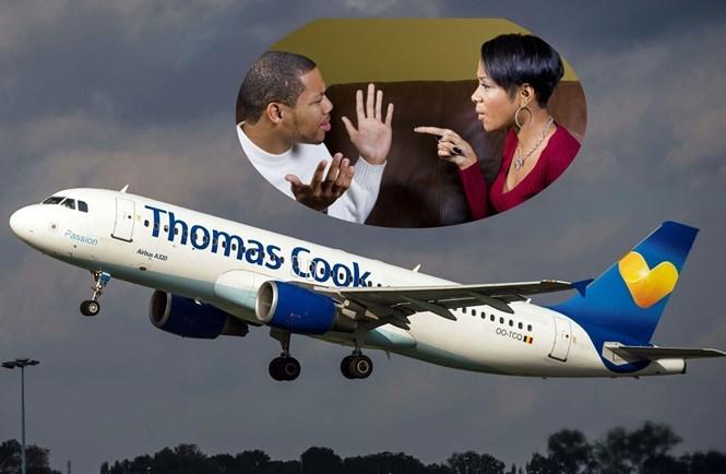 Hãng hàng không Thomas Cook Airlines vừa gặp phải tình huống cặp vợ chồng cãi nhau nảy lửa trên chuyến bay  /// Ảnh minh họa: AFP