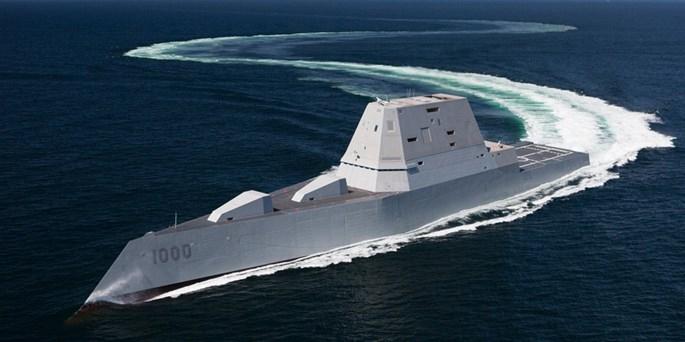 Điều khiển tàu chiến tàng hình Zumwalt như lái chiếc SUV cực mạnh - ảnh 3