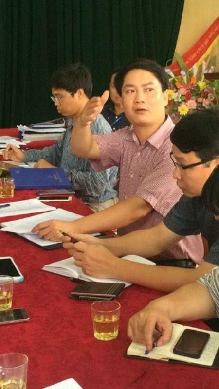Ông Vũ Mạnh Hùng, Giám đốc Nhà máy thủy điện Hố Hô vẫn khẳng định việc xã lũ là đúng quy trình