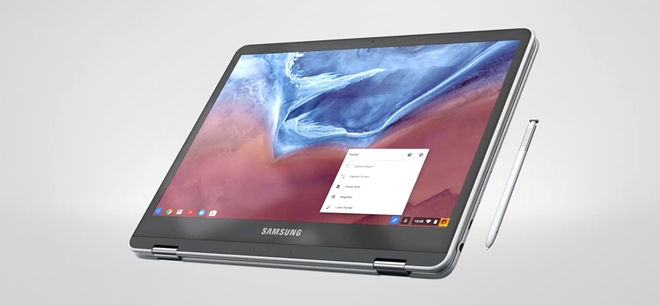 Samsung ra mat Chromebook Pro co but cam ung giong Note 7 hinh anh 8