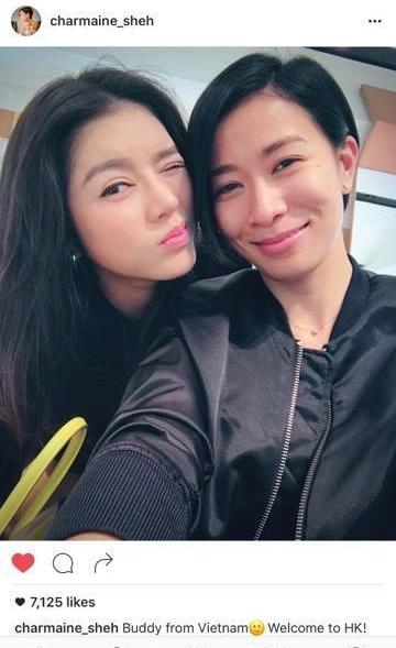 Xa Thi Mạn đăng ảnh và giới thiệu Lý Nhã Kỳ là bạn thân của cô trên instagram - Ảnh 1.