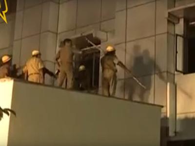 Cháy bệnh viện ở Ấn Độ, 22 người chết