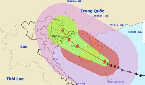 Bão giật cấp 16 tấn công Hải Phòng - Quảng Ninh, chiều nay miền Bắc mưa lớn - Ảnh 1.