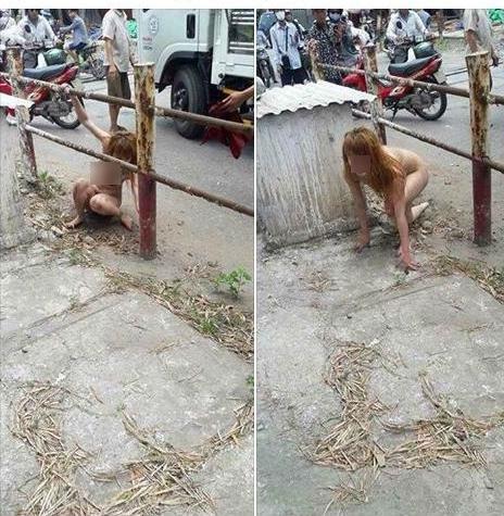 Chị gái hớ hênh tốc váy khi qua đường dù không mang nội y khiến dân tình sửng sốt - Ảnh 3.