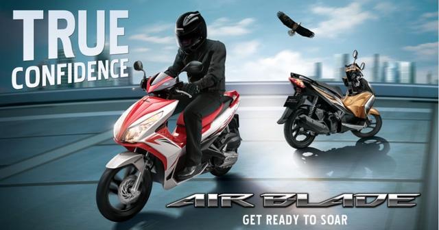 Honda Air Blade 125 đời cũ bị triệu hồi tại Malaysia.