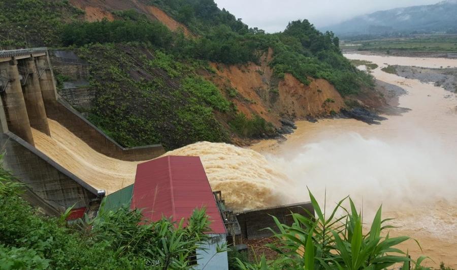 Xả lũ, lũ lụt Quảng Bình, Lụt Hà Tĩnh, miền Trung, thiên tai, thuỷ điện