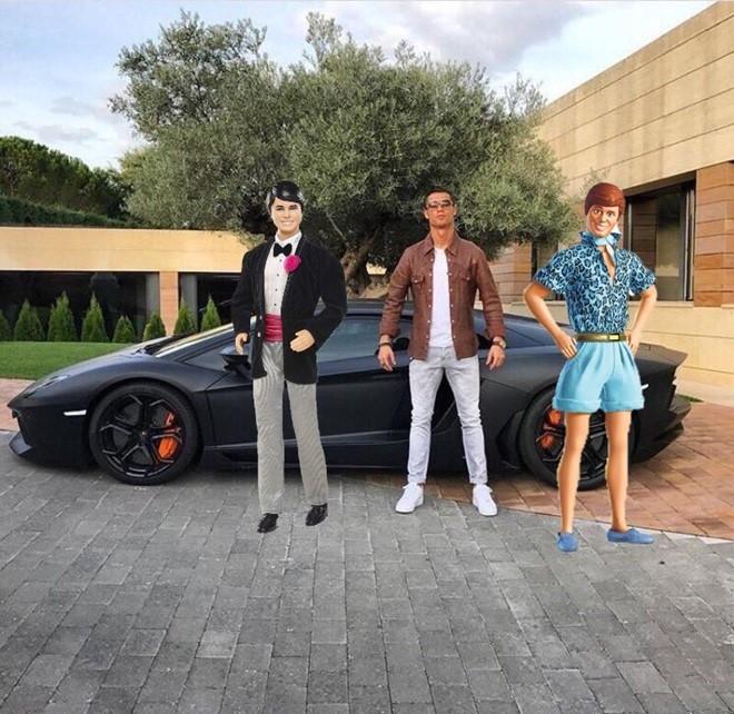 Ronaldo hoa nguoi doi, sieu xayda va tho sua xe hinh anh 6