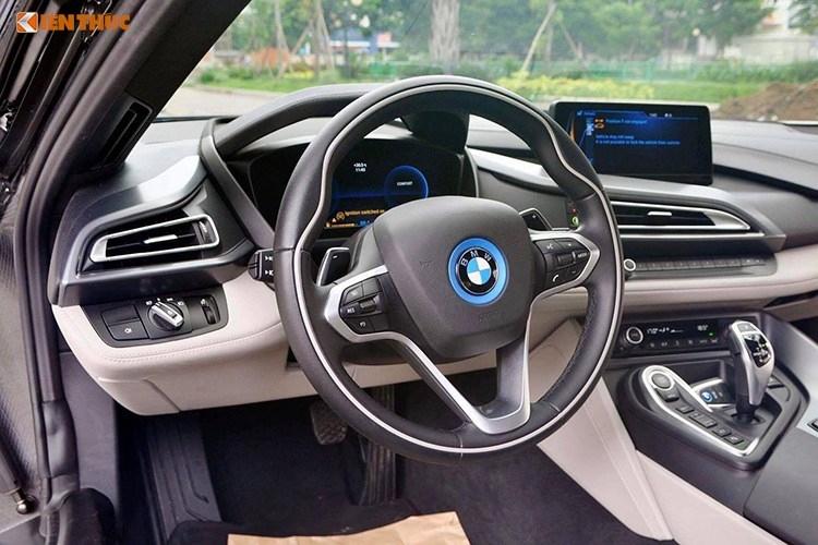 Sieu xe BMW i8 tri gia tien ty