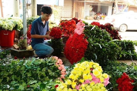 Sản lượng hoa Đà Lạt bị ảnh hưởng do thời tiết mưa bão liên tục.