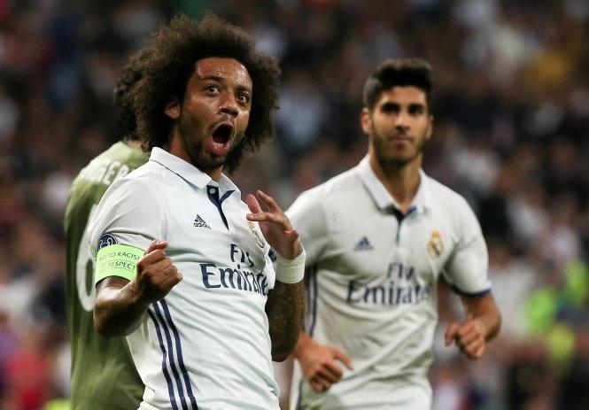 Ronaldo tịt ngòi, Real vẫn thắng đậm Legia Warszawa
